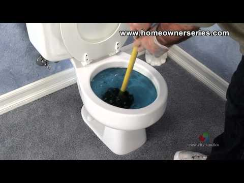 How to Fix a Toilet - Diagnostics - Blocked Toilet