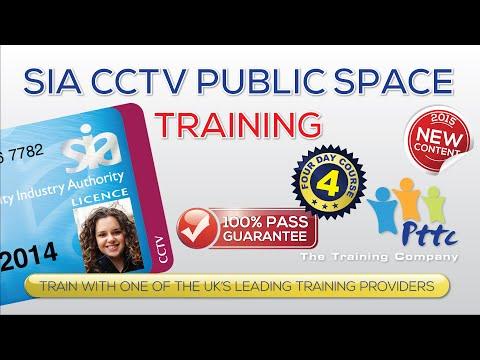 SIA CCTV Licence Training | London | PTTC The Training Company