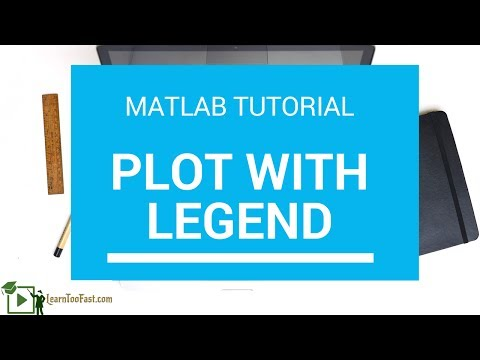 How to plot graph in Matlab with legend - Matlab Tutorial - Learn Too Fast