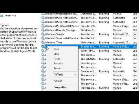 How to Fix  Error 0x80070422 | Windows Update error solved