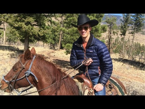 NEVER RODE ON A HORSE BEFORE, UNTIL NOW