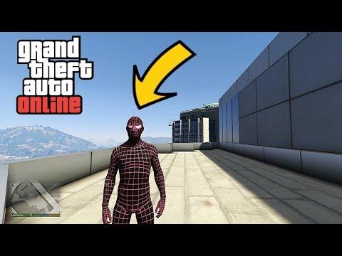 GTA 5 Online DLC Spider-Man Suit -