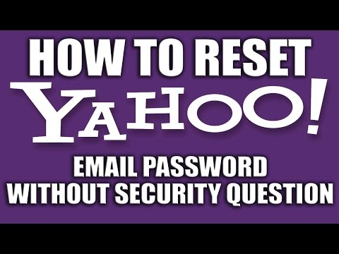 How to Reset Yahoo Password With Phone Number