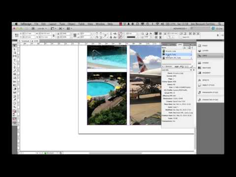 Adobe InDesign 7 - Images and resolutions