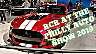 RCR At the Philly Auto Show 2019