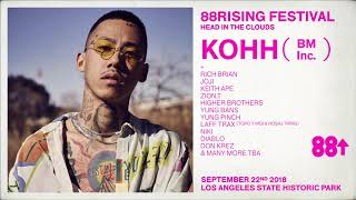 KOHH USA DEBUT at HEAD 💭IN 💭THE 💭CLOUDS FESTIVAL 9.22.18