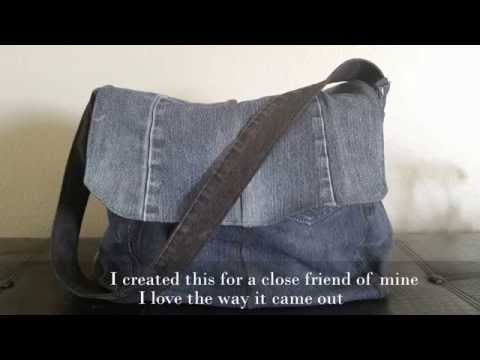 Homemade Jeans Purse