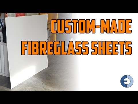 Custom made Fibreglass Flat Sheet - East Coast Fibreglass