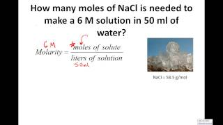 Calculating Molarity Solving For Moles Grams 4 Practice Examples
