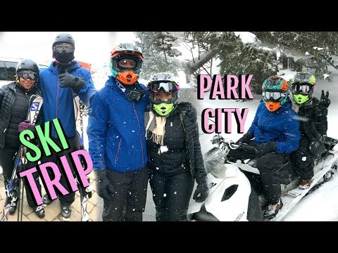 Vacay Vlog #4:  We Got Lost On A Mountain | Our First Epic Ski Trip | Park City, Utah
