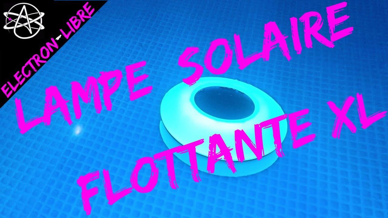 LAMPE SOLAIRE FLOTTANTE XL ALIEXPRESS