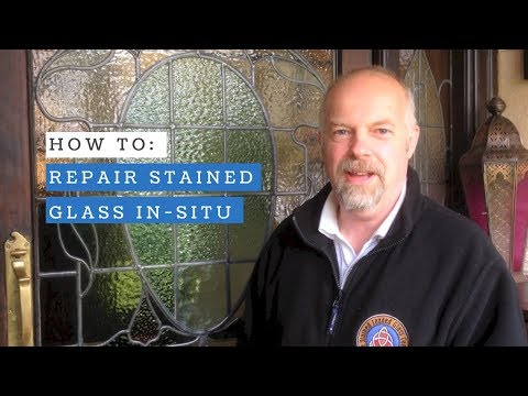 How To: Repair Stained Glass In-Situ.