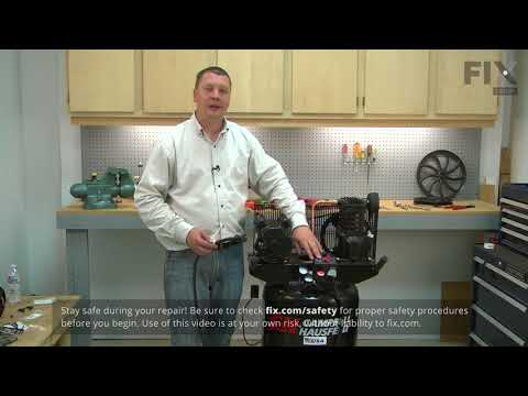 Campbell Hausfeld Compressor Repair - How to Replace the Unloader