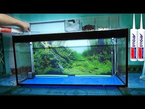 Aquarium model 1 - How to make an aquarium - [Piece of Paper]
