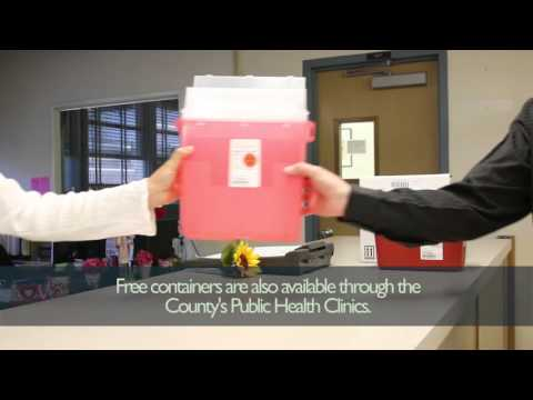 """Free """"Sharps"""" Containers and Disposal Offered by County"""