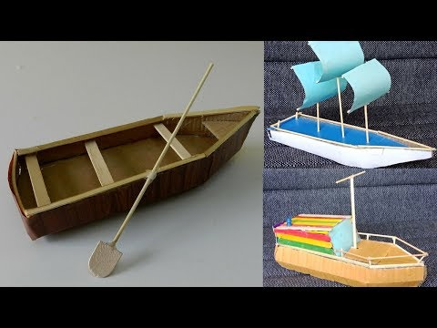 3 Beautiful DIY Cardboard Boat Toys Crafts for Kids #7