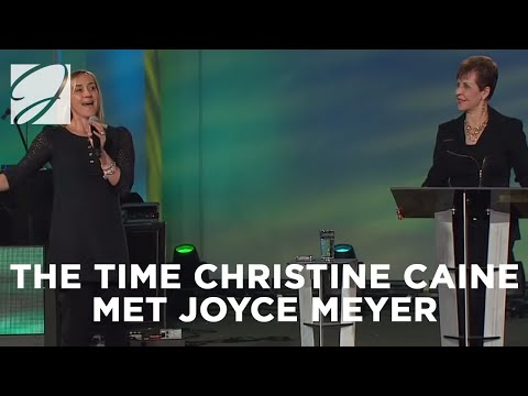 When Christine Caine Met Joyce