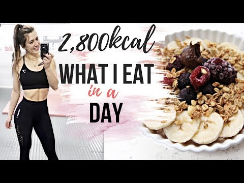 2,800 calories WHAT I EAT IN A DAY    EASY OPTIONS FOR BUSY DAYS!