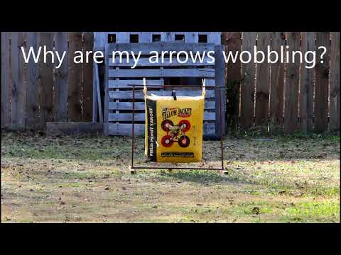 Bear Archery Cruzer why do my arrows wobble so much?