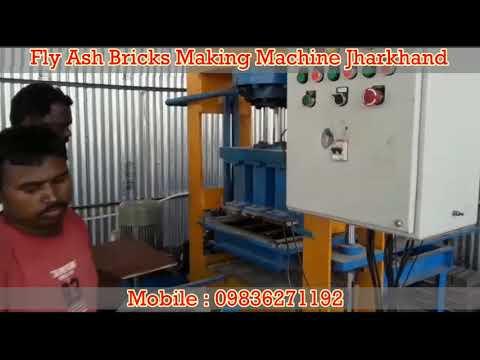 Fly Ash Bricks Making Machine Jharkhand