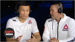 The Korean Zombie 'doesn't care' who he fights next after win vs. Renato Moicano | ESPN MMA