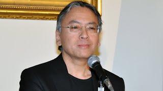世界的作家、カズオ・イシグロが英国大使館で記者会見