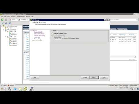 VMware ESXi & vSphere 5.1 Admininstration Training : VMFS File System