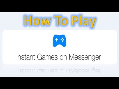 How to play Instant Games on Facebook Messenger II Android and iPhone II