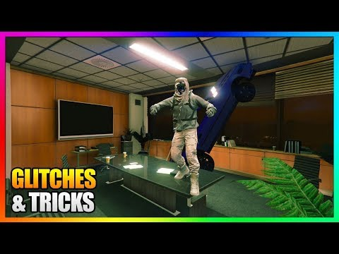 How To Wallbreach Inside IAA Building SOLO with CAR! | NEW GTA 5 Online Glitches 1.42