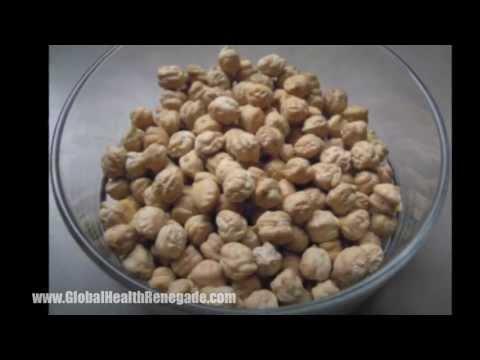 How to make Chickpea Flour - Global Health Renegade