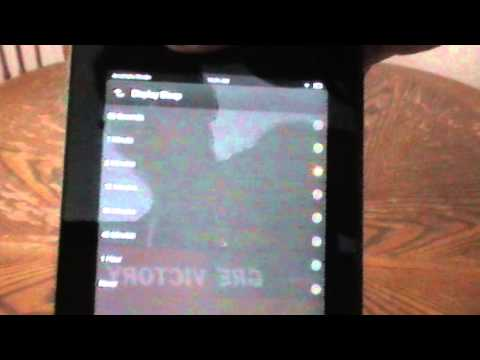 Toggle Screensaver on Kindle Fire HD