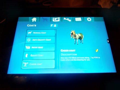 Goat Simulator: how to unlock the cheerleader goat