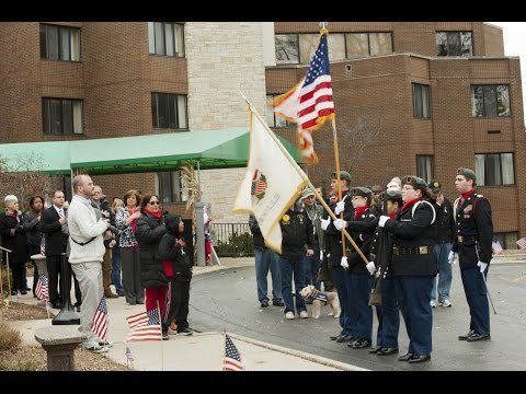 A Salute a Hero!  Veterans Honored at the Villas