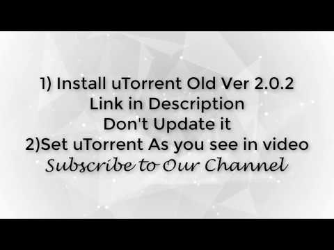 uTorrent get full speed at low seeders Xp,Win7,8,10
