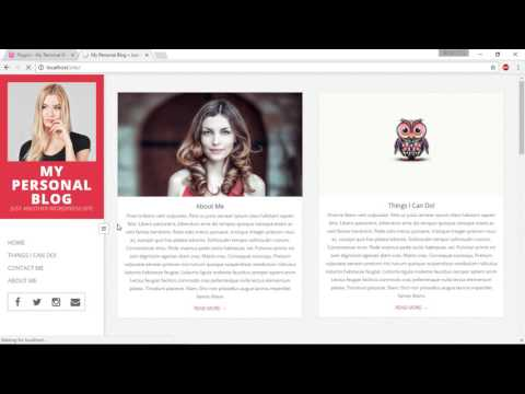 Create a Personal Blog - 07. Intro To WordPress Plugins and Creating a Contact Form