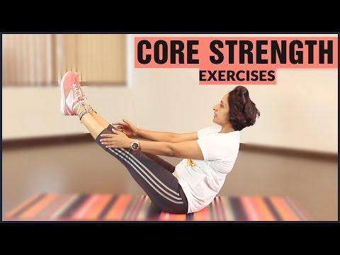 4 BEST CORE STRENGTH EXERCISES For Beginners