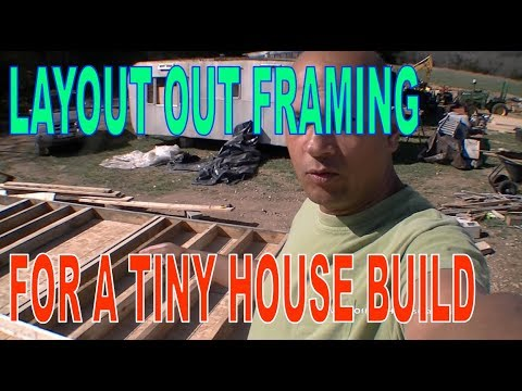 OGH - Framing our Addition - DIY Learn How to Frame a 14x30 Tiny House Home