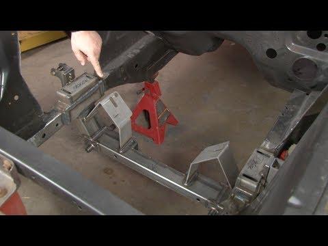 Mustang Rod & Custom Rack and Pinion/Disc Brake Conversion Kit 1965-1973 Installation