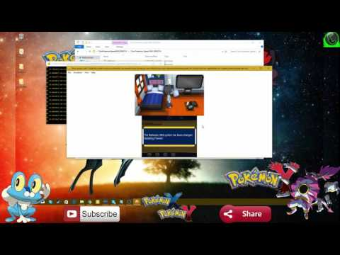 How to play Pokemon X and Y on PC (Download Link ) and Save File 100