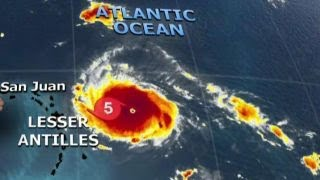 Hurricane Irma grows to powerful Category 5 storm