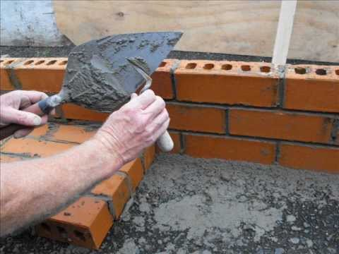 How to Build a Mitred and Round Brick Hearth