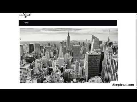 Image Zoom Effect Animation - Easy CSS3 & HTML Tutorial