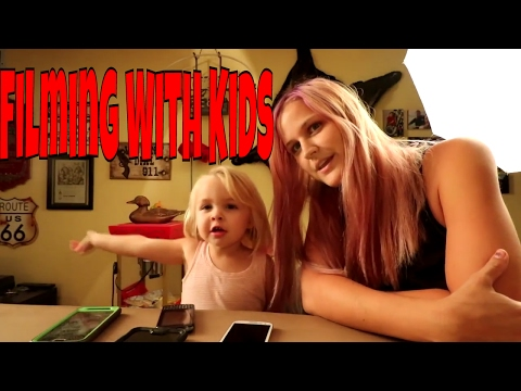 Behind The Scenes: Filming With Kids