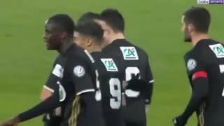 Lyon vs Monpelier 5   0 coupe de france  tous les buts et le résumé  08 01 2017   HD
