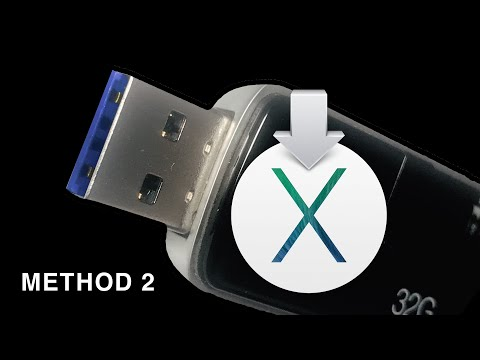 How To Create a Mac OS X Mavericks USB Boot Disk : Method 2