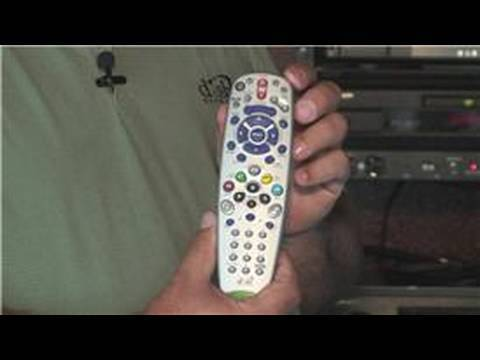 Satellite Television Info : Setting a Dish Remote to TV