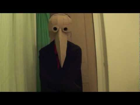 Plague Doctor Mask (Cardboard)