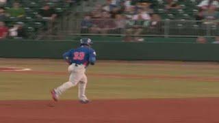 Jeffrey Baez breaks scoreless tie with solo home run