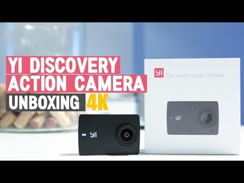Yi Discovery action camera 4K | Unboxing y primer encendido