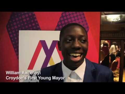 Croydon Young Mayor - winning candidate William Awomoyi speaks